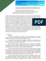 SIMPEP 2009 (Artigo) - Utilização de Mock-ups para mudanças de layout, um estudo de caso.