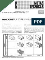 4 Fabricacion de Bloques de Concreto