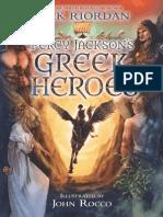Percy Jackson's Greek Heroes chapter excerpt