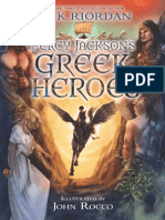 Percy Jackson's Greek Heroes chapter excerpt