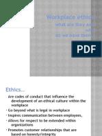 Workplace Ethics NICOLE FINAL