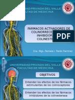 FARMACOLOGIA COLINOMIMETICOS