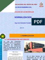 2da Clase Normalizacion Fic-uncp