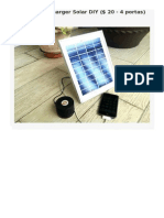 Portable USB Charger Solar DIY