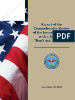 Department of Defense 2010 DADT Report