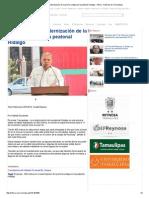 08-16-2015 400 Metros en Modernización de La Primera Etapa en La Peatonal Hidalgo