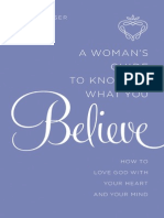 A Woman's Guide to Knowing What You Believe