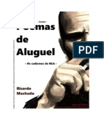 Poemas de Aluguel - Ricardo Machado