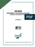 Tiernan SE4000 Operations Manual
