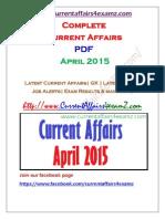 CA4Examz April 2015 Complete PDF