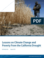 Lessons on Climate Change and Poverty From the California Drought