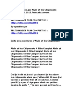 [Cpasbien.pe] Alvin Et Les Chipmunks 4.2015.Francais.torrent