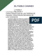 Origen Del Pueblo Cananeo