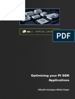 VCampus Library_White Papers and Tutorials_PI SDK_White Paper - Optimizing Your PI SDK Applications