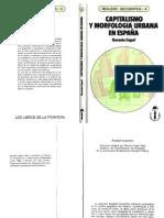 Capel Capitalismo y Morfología Urbana en España