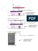 testing of digital portfolio