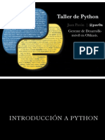 Python Ittux