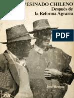 El Campesinado Chileno Despues de La Reforma Agrar