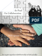 St. Vincent de Paul On Collaboration