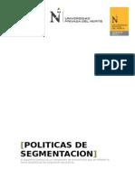 Politicas de Segmentacion de Mercados Internacionales