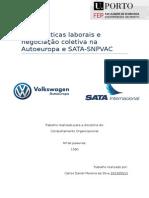 Boas Praticas Laborais e Negociação Coletiva Na Autoeuropa e SATA
