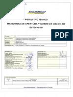 Pdt066 (Maniobra de Apertura y Cierre Dbc)