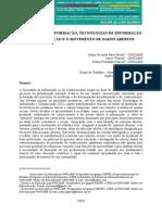 Sociedade da Informação, Tecnologias de Informação e Comunicação e o movimento de dados abertos