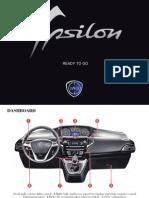 Lancia Ypsilon 2011 Misc Documents-Ready to Go