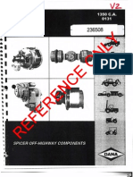 Dana Spicer PS-PR 1350 Service Manual