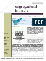 Congregational Chronicle July 2015