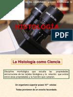 1a Clase Introducción a La Histología-Epitelios de Revestimiento