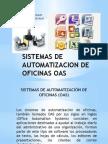 Sistemas de Automatizacion de Oficinas Oas