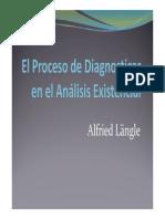 El Proceso de Diagnosticar en El Análisis Existencial