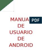 Manuial de Usuario Android