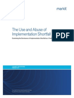 The Use and Abuse of Implementation Shortfall_Markit