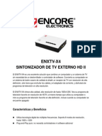 Enxtv-x4(v2) Data Sheet Sp130124