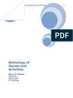 Anthology of Games and Activities