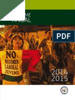 Informe Anual DDHH en el Peru 2014 2015