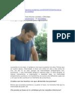 Entrevista a Cristian Molina