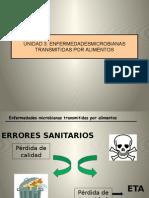 UNIDAD 3 Enfernedades Microbianas Trasnmitidas Por Alimentos