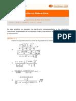 Práctico 2 de matemáticas para las funciones.