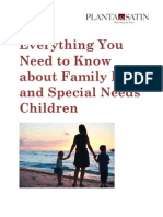Special Needs Children & Family Law