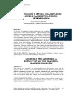 Linguagem e Lingua- Uma Reflexao Acerca Da Dialetica Ensino- Aprendizagem