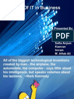 Role Of IT in business.ppt