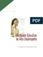 Manual Asistente Ejecutiva