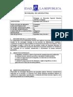Asignatura Expresión Oral y Escrita II