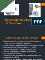 Seguridad en IngenierÃa de Software