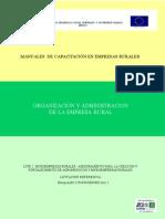 Organizacion y Administracion de La Empresa Rural Manual