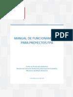Manual Funcionamiento Proyectos Fpa2016
