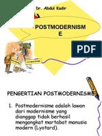 5. TEORI POSTMODERNISME